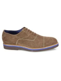 Saks Fifth Avenue Collection Suede Lace-up Dress Shoes In Almond Fifth Avenue Collection, Saks Fifth Avenue, Almond, Dress Shoes, Lace Up, Mens Fashion, Sneakers, Shopping, Dresses