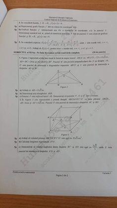 EVALUARE NAȚIONALĂ Matematică 2019. Subiecte și Bareme EDU.RO la CAPACITATE Personalized Items