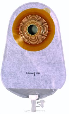 Assura One-Piece Non-Convex Standard Wear Urostomy Pouch