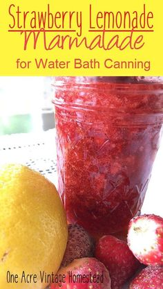 Strawberry lemonade marmalade tastes just like the classic summertime drink. Made with fresh strawberries, lemon, pectin and sugar.it is the best. Raspberry Cheesecake, Cheesecake Desserts, Jam Recipes, Canning Recipes, Relish Recipes, Canning 101, Jelly Recipes, Lemon Marmalade, Marmalade