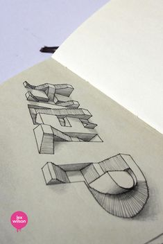 3D Typo von Lex Wilson