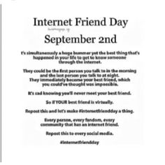 Hopefully we can meet are internet friends! Internet Friends, Online Friends, Friends Day, My Best Friend, Best Friends, Getting To Know Someone, Chat Board, Love You, My Love