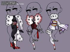 Sesshomaru clothing adopt -CLOSE- by Miss-Trinity Source by moonlight_the clothing sketches Clothing Sketches, Dress Sketches, Manga Clothes, Drawing Clothes, Cartoon Outfits, Anime Outfits, Cartoon Drawings, Cute Drawings, Character Outfits