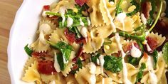 A bowtie pasta salad loaded with ingredients no one can resist.