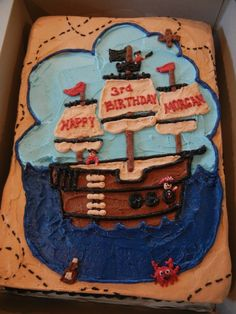 the birthday cake morgan-s-pirate-party