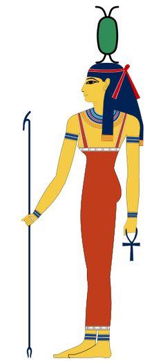 Egyptian weaver goddess, Neith