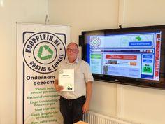 Jawel hoor! #Koopplein noord oost Friesland is een feit! Welkom Lammert van der Kooi.
