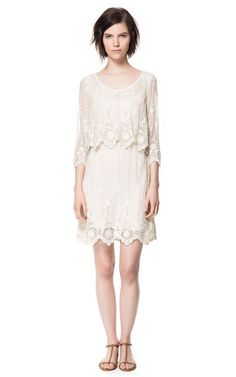 Gorgeous lace dress | Zara