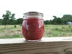Rhubarb raspberrysauce - Hip Girl's Guide to Homemaking - Get hip to your home, kitchen and garden with Kate Payne