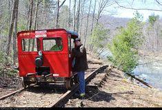 RailPictures.Net Photo: Catskill Mountain Railroad Speeder at Phoenicia, New York by Ronnie Schnepf