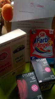 fraukatz-testet: Mein Produkttester-Paket  von Frag-Mutti.de