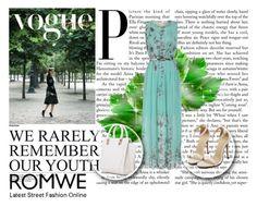"""Romwe dress"" by nejra-e ❤ liked on Polyvore featuring beauty"