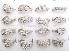 Pretty Fantasy Rings. Click the link to purchase our unique handmade Peruvian jewelry at awesome wholesale prices (includes shipping & insurance!)  Make money with your own online or offline business selling Peruvian Jewelry or save big on beautiful gifts for yourself or that special someone! Click here:  http://www.wholesaleperuvianjewelry.com/