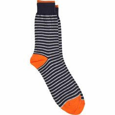 Jack Spade Striped Socks at Barneys.com