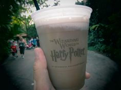 Butter beer tasted amazing