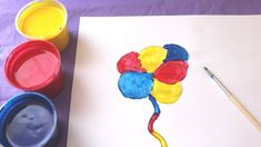 Drawing coloring and drawing Flowers How To Draw, Paint & Learn Colors for kids children Drawing Flowers, Learning Colors, Play Doh, Coloring For Kids, Cool Toys, Toddlers, Make It Yourself, Children, Drawings