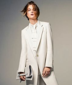 Bo Don Wears All White For Vogue Brazil By JacquesDequeker - 8 Style | Sensuality Living - Anne of Carversville Women's News