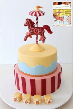 carousel cake... very achievable