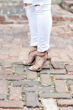 Strappy Taupe Sandal
