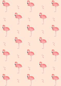 Free digital flamingo scrapbooking paper - ausdruckbares Geschenkpapier - freebie   MeinLilaPark – DIY printables and downloads