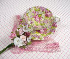 tea cup vintage | VintageCorsage.com