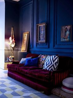 Check it out Eye For Design: Decorating With Velvet Sofas………Trendy For 2015 The post Eye For Design: Decorating With Velvet Sofas………Trendy For 2015… appeared first on Best Home Decor .