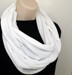 Shoply.com -Infinity Scarf White. Only $20.00