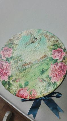 Caja decorada con papel de arroz