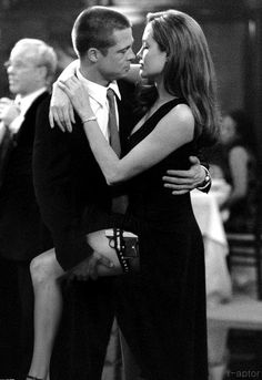 Love is a tango  Brad Pitt and Angelina Jolie - 'Mr. & Mrs. Smith', 2005, directed by Doug Liman.