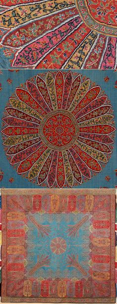 Antique Kashmiri Shawl.This is one of the great masterpieces of the early 19th century. Circa 1800