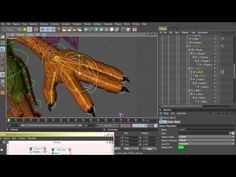 Cinema 4D Rigging 09 - Fingers Controller using XPresso - YouTube