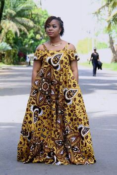 Beautiful Multicoloured African Dress I came across these beautiful African Print Dress. I like to style it up or down depending on the occasion. Long African Dresses, Ankara Long Gown Styles, Latest African Fashion Dresses, African Print Dresses, African Print Fashion, Africa Fashion, African Prints, Ankara Gowns, Ankara Fashion