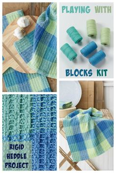 Waffle weave on a rigid-heddle loom? Yes please! Hone your skills with this gorgeous kit.