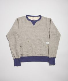 "i like the idea of having that ""one"" of something. here's a sweater pick: anachronorm loopwheel sweat heather grey. £170.00"