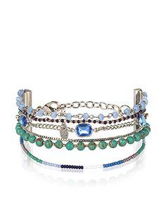 Ethnic Lux Clasp Bracelet