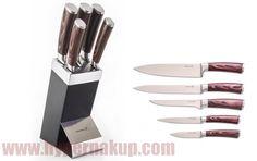 Set kuchynských nožov v stojane Gourmet Dynamic Kitchen Knives, Gourmet