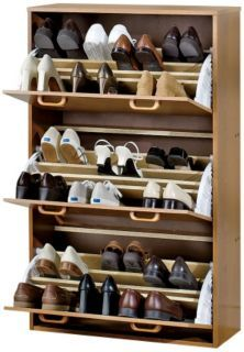 Josh needs this...he has more shoes than I do!