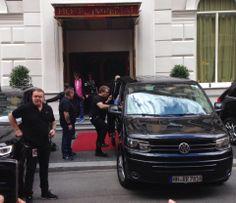 Rolling Stones @Sheri with Europcar ;) #EuropcarAustria #RollingStones