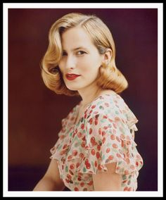 """""""My red lip I wear all the time, even at beachside places.""""-Charlotte Dellal"""