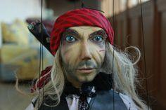 marionette Pirate_1 marioneta puppet ooak artdoll títere