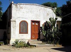 Tucson Adobe  Located in the El Presidio Historic District, Tucson Arizona