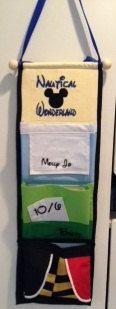 Disney Cruise  Custom Alice in Wonderland Fish Extender FE - 3 personalized pockets. $37.00, via Etsy.