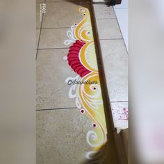 Rangoli Designs Latest, Simple Rangoli Designs Images, Rangoli Designs Flower, Colorful Rangoli Designs, Rangoli Designs Diwali, Free Hand Rangoli Design, Small Rangoli Design, Indian Rangoli, Diwali Craft