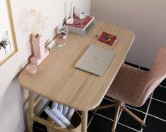Escritorio Nudo & Tea / Escritorios — Sancal Different Styles, Home Office, Corner Desk, Chair, Furniture, Home Decor, Industrial Office, Office Home, Hexagon Quilting