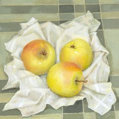 THREE APPLES by VAL ARCHER