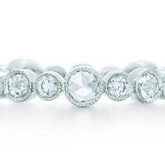 Tiffany Enchant Diamond Band Ring in platinum. - $480.00 : TITLE, SITE_TAGLINE