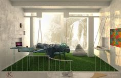 концепт двухэтажного дома