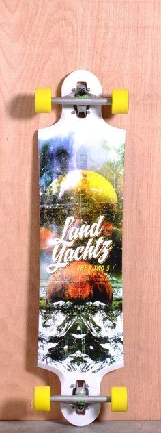 """Landyachtz 40.2"""" Nine Two Five Longboard Complete"""