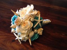 How To Make a Seashell Bridal Wedding Bouquet & Save Money