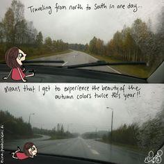 Palasia sateenkaaresta: Roadtrip to Lapland Day 7 - Doodle 2/4